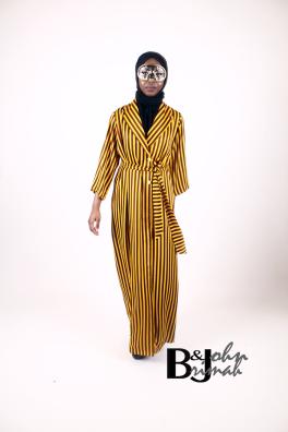 mustard+wrap+dress