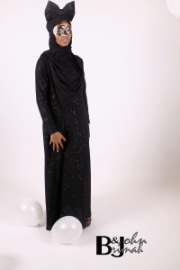sparkle+sequined+abaya+front